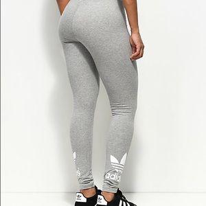 Grey Adidas leggings *NEW*